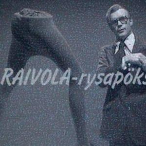 Kari Heiskanen Raivola-rysäpöksyt-sketsissä Velipulikuu-ohjelmassa