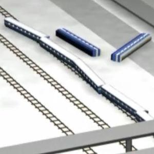 Demovideo Jyväksylän junaonnettomuudesta vuodelta 1998