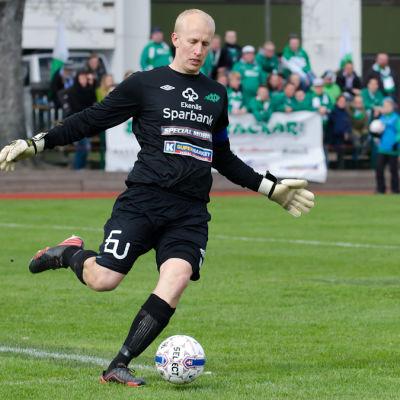 EIF:s målvakt Oscar Forsström