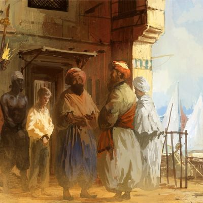 Orjakauppaa Pohjois-Afrikassa