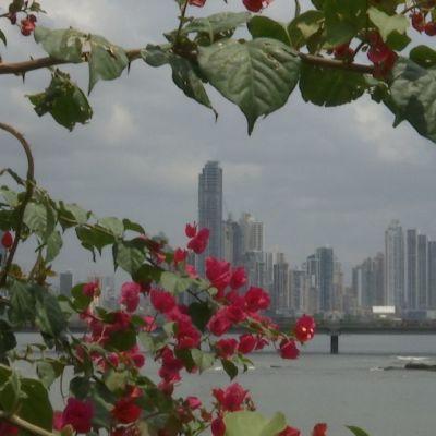 Stadsvy, Panama.