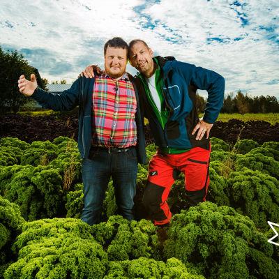 Michael Björklund och Matias Jungar gillar närmat.