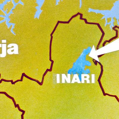 Inarin kartta