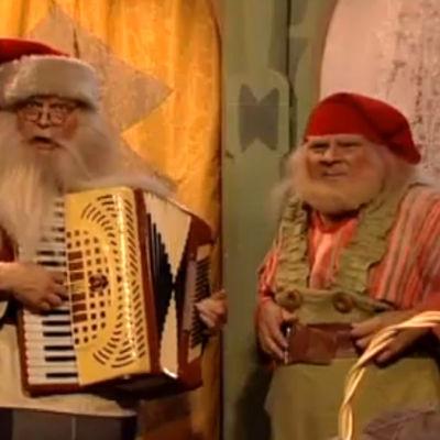 Joulupukki ja Tonttu Toljanteri, ohjelmasta Toljanterin Tonttu-tv (2003)