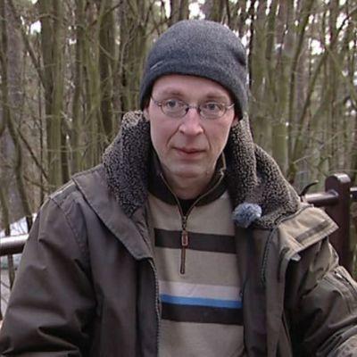 Jussi Halla-Aho haastattelussa vuonna 2009
