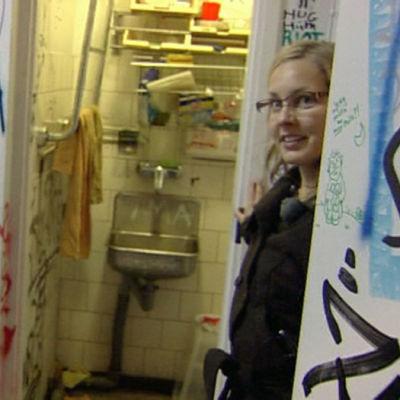 Nainen vallatussa talossa, ohjelmasta Silminnäkijä (2008)