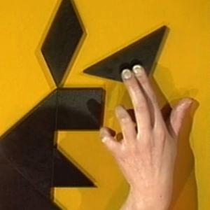 Kiinalainen tangram-peli, ote ohjelmasta Kiinalainen juttu (1992)