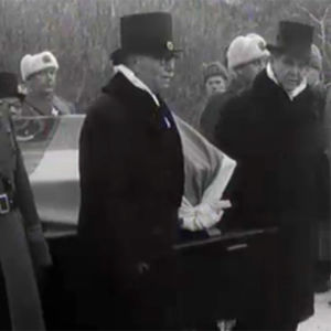 Risto Rytin hautajaiset (1956).