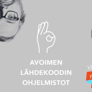 Vikasietotilan tekijät Kari Haakana, Panu Räty ja Olli Sulopuisto.