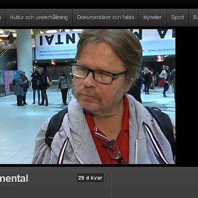 Mårten Lågas intervjuas av Annica Forss