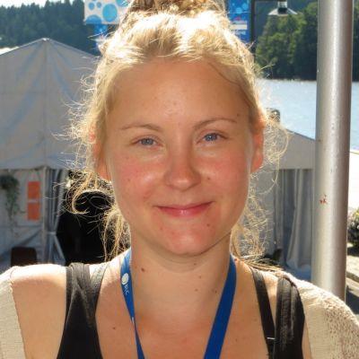 Savonlinnan kansainvälisen luontoelokuvafestivaalin festivaalijohtaja Annakaisa Vänttinen