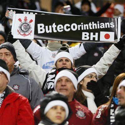 Corinthiansin kannattajia.