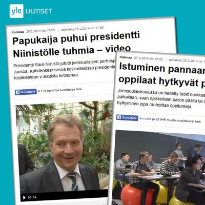 Muutamia poimintoja vuoden 2014 nettijutuista.