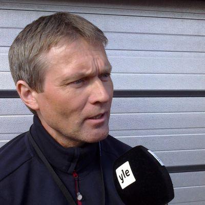 Petri Tuomi Oulu-Koillismaan pelastuslaitokselta