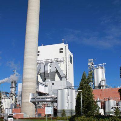 UPM Pietarsaaren tehdas.