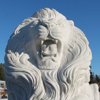 Ruokolahden leijonapatsas