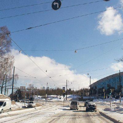Suunniteltu Helsinki garden -rakennus.