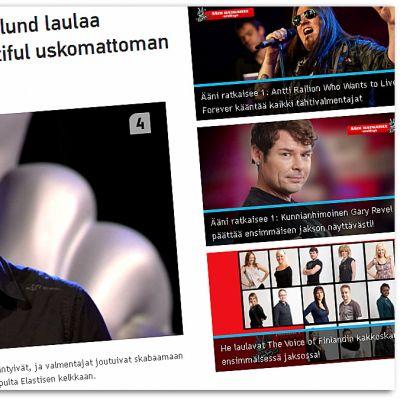 Tomas Höglund i Voice of Finland