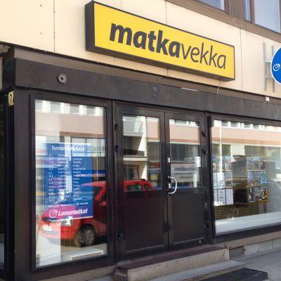 Matka-Vekan konttori Kokkolassa.