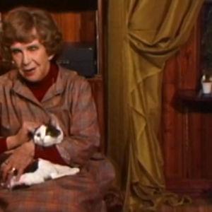 Kylli-täti ja Misse-kissa.