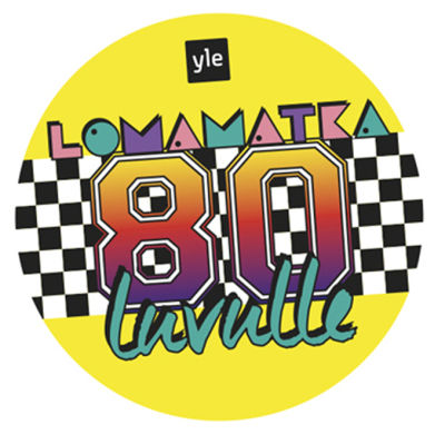 Lomamatka 80-luvulle .ohjelman logo