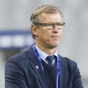 Markku Kanerva under en landskamp 2020.