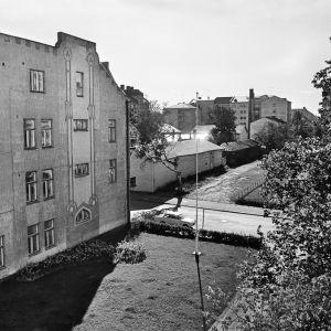 Utsikt över Sandögatan 1968.