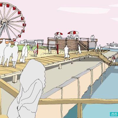 Allas, bild från http://www.facebook.com/Helsinkiallas