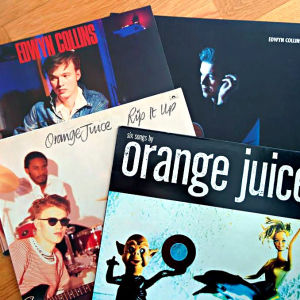 Edwyn Collins, Orange Juice, skivomslag