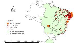Tusentals fall av mikrocefali i Brasilien