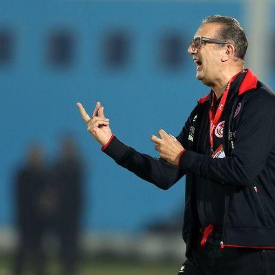 Tunisian valmentaja George Leekens.