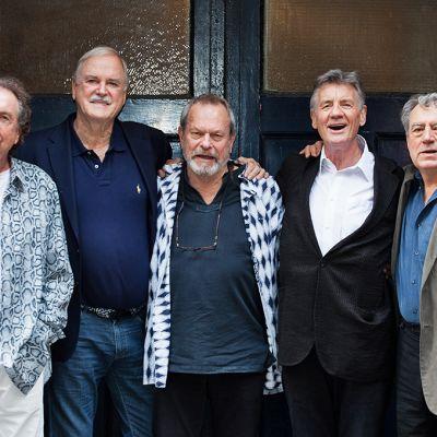 Eric Idle, John Cleese, Terry Gilliam, Michael Palin ja Terry Jones