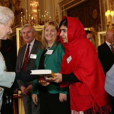 Kuningatar Elisabet ja Malala Yousafzai