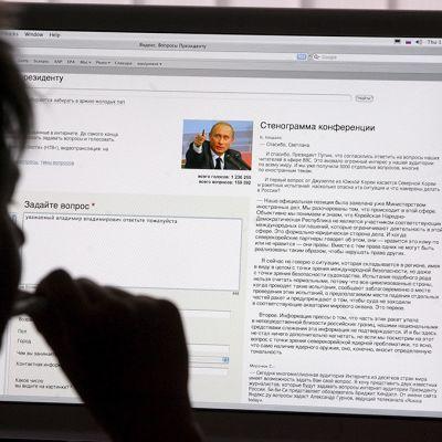 verkkoportaali Yandex.