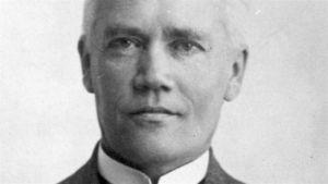 Herman Lundborg i närbild.