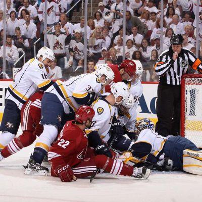 Nashvill mot Phoenix i NHL