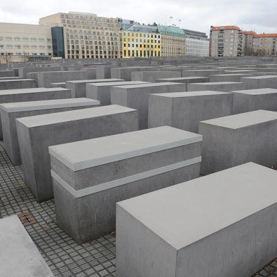 Satoja ihmistä korkeampia graniittipaasia