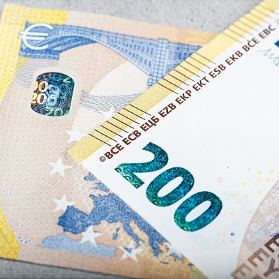 200 euron seteli.