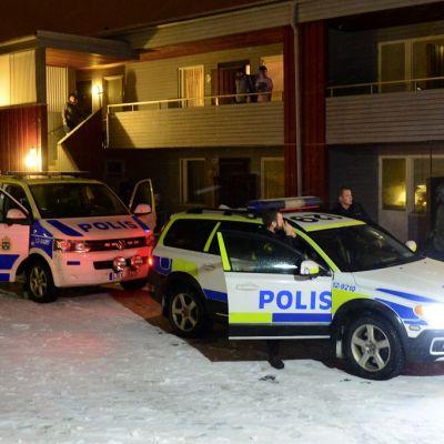 Ruotsin poliisi pidätti terroristiksi epäillyn miehen Bolidenissä 19. marraskuuta.