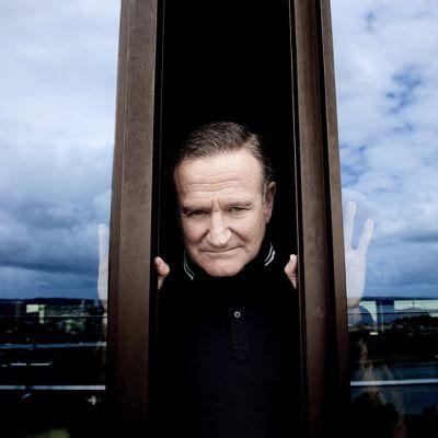 Näyttelijä Robin Williams.