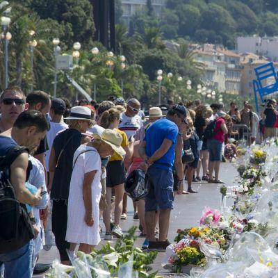 Muistopaikka Nizzassa