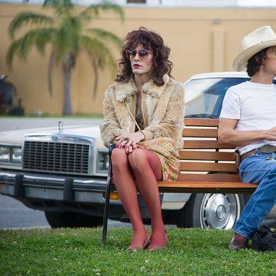 Jared Leto ja Matthew McConaughey Dallas Buyers Club -elokuvassa.