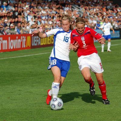 Linda Sällström, Finland-England, EM 2009