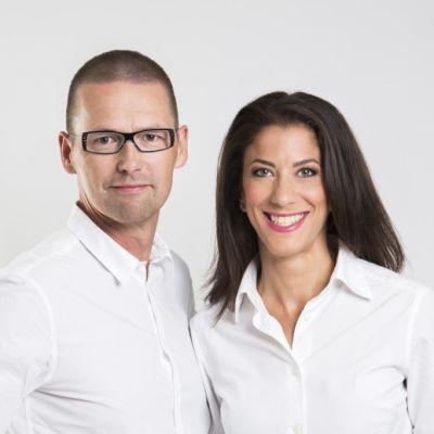 Ari och Mona Riabacke är filosofie doktorer i risk- och beslutsanalys