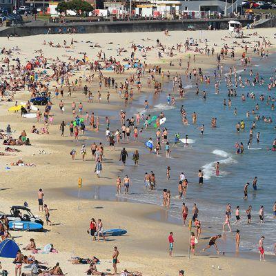 Bondi Beach Sydneyssä 20. marraskuuta.