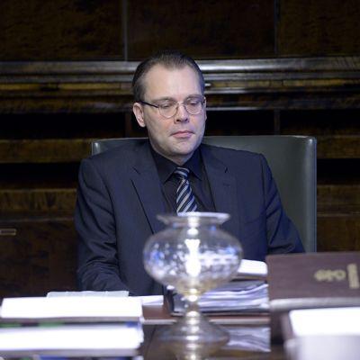 Perussuomalaisten varapuheenjohtaja Jussi Niinistö.