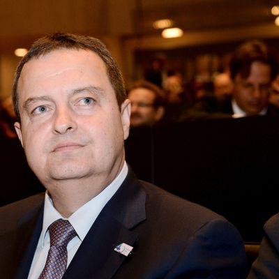 Serbian ulkoministeri Ivica Dacic Etyj:n yleiskokouksessa Helsingissä 10. heinäkuuta 2015.