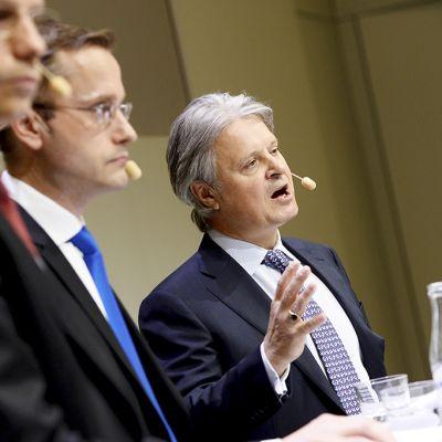 Erik Ekman, Snorre Storset ja Casper von Koskull.