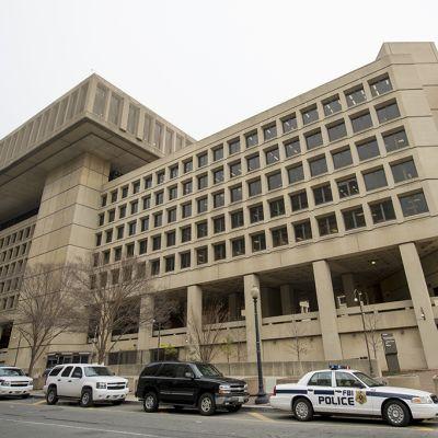 FBI:n päämaja Washingtonissa.