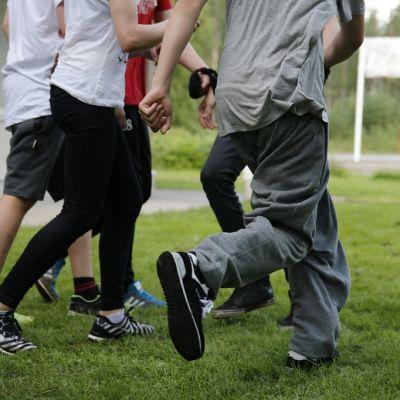 Rippileiri, nuori, Rovaniemi, Norvajärvi, seurakunta, liikunta, leikki